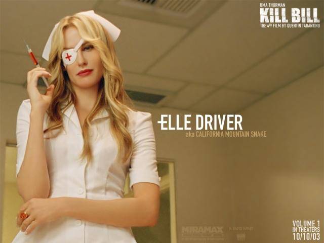 Elle Driver en Kill Bill, mi personaje favorito de toda la película! Elle Driver on Kill Bill, my favourite role of the film