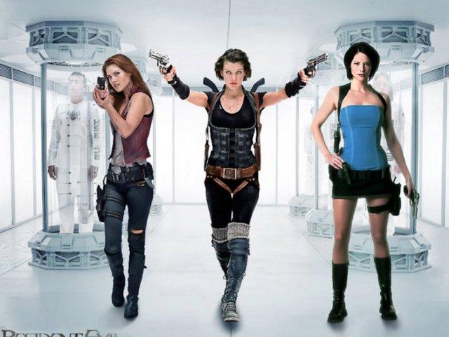 Alice, Claire o Jill, de Resident Evil/ Alice, Claire or Jill, of Resident Evil